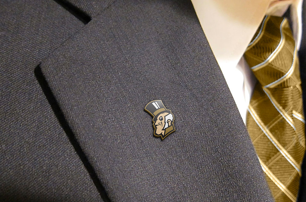 Demon Deacon Lapel Pin