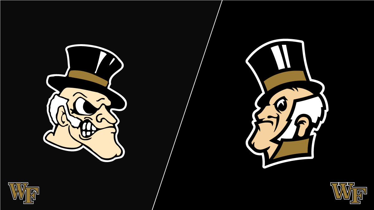Wake Forest Mascot - Old verses New